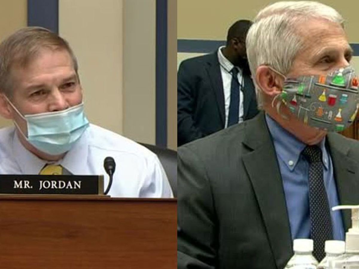 Jordan, Fauci engage in heated exchange during hearing