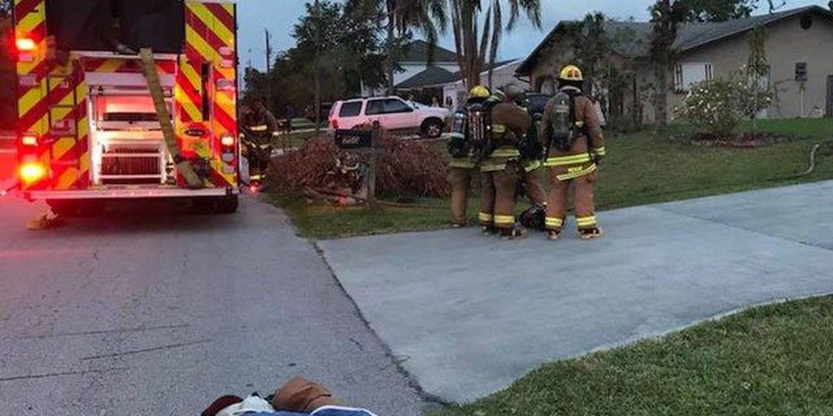 Man suffers critical burns in PSL house fire