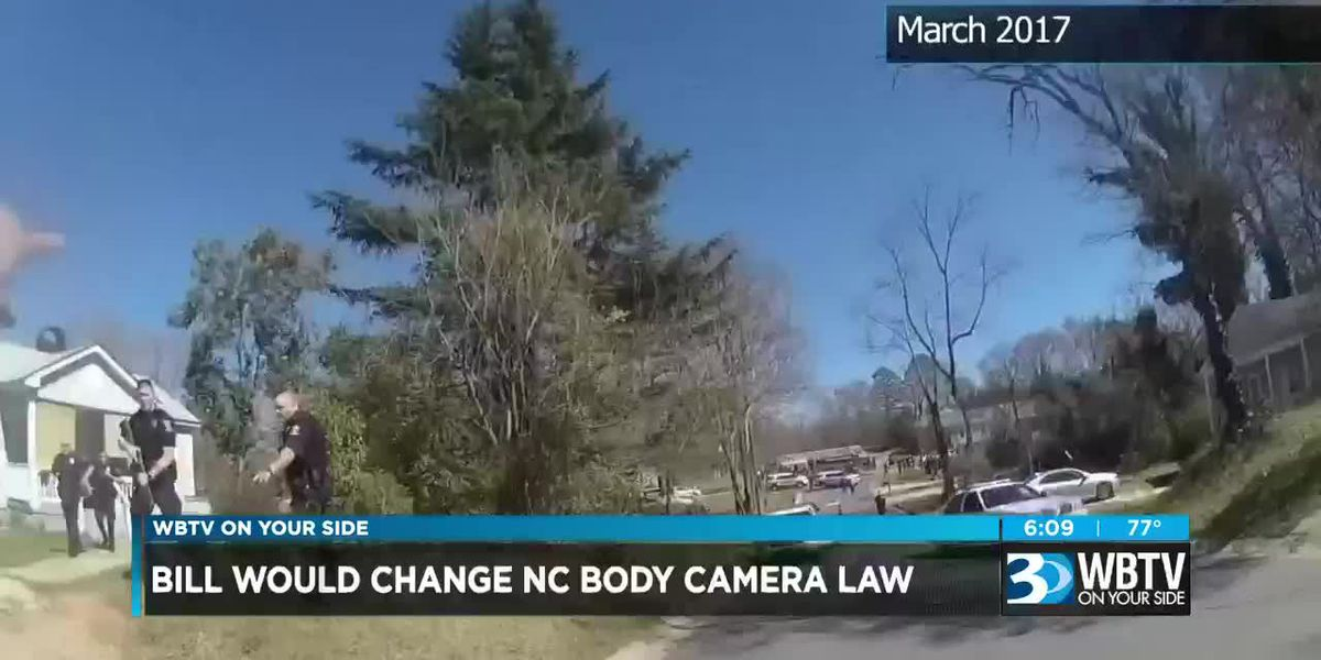 Bill would change NC body camera law