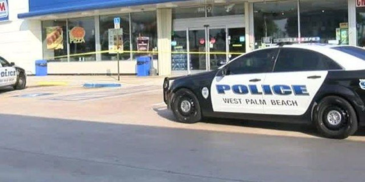 Man shot at WPB apartment, runs to gas station