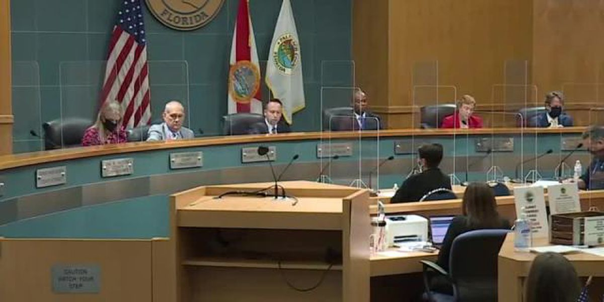 Palm Beach County commissioners mandate face masks in public buildings