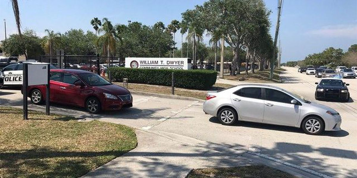 Lockdown lifted at Dwyer High School