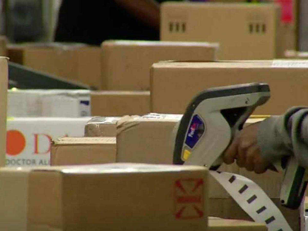 Time is running out to have packages delivered by Christmas