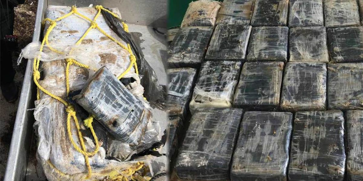 St. Lucie County deputies find 57 pounds of cocaine floating near Fort Pierce Inlet State Park