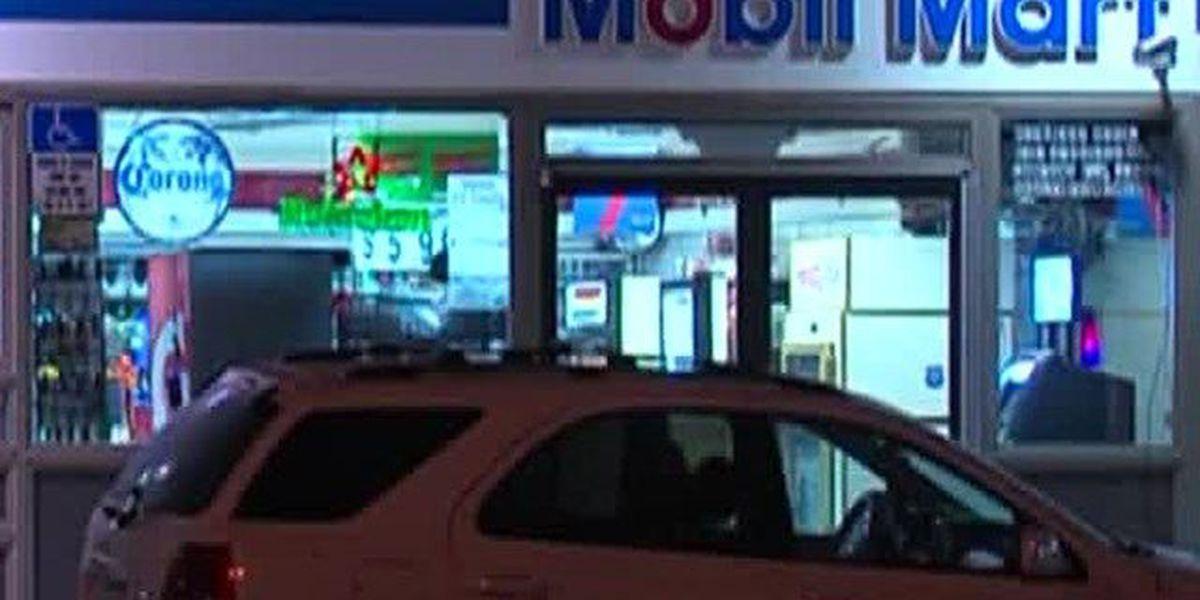 Shooting victim found at store near Lantana