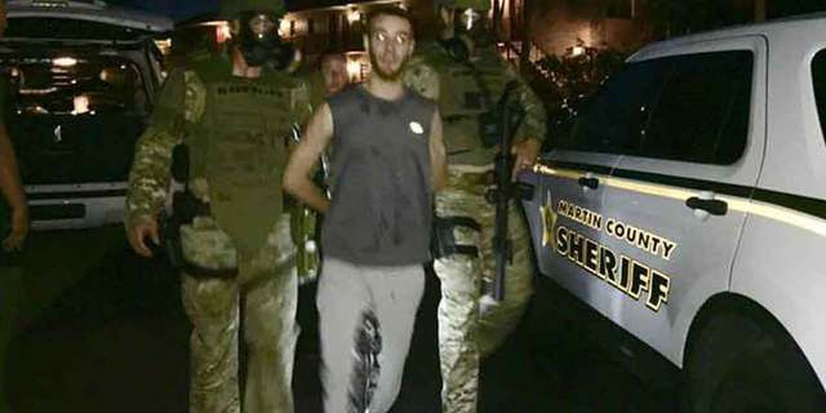 24-year-old man arrested after 3-hour SWAT standoff in Martin County
