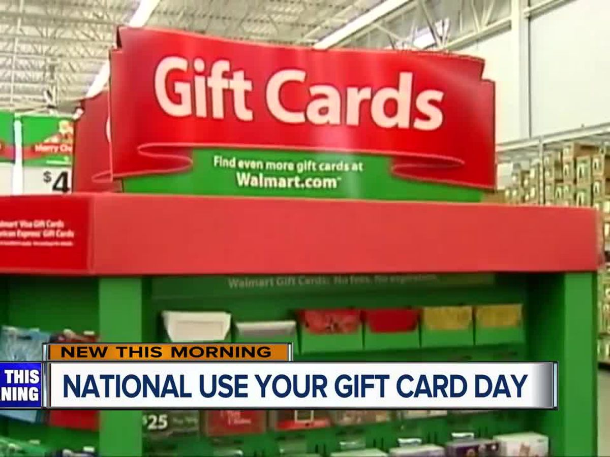 Local woman creates national holiday about gift cards