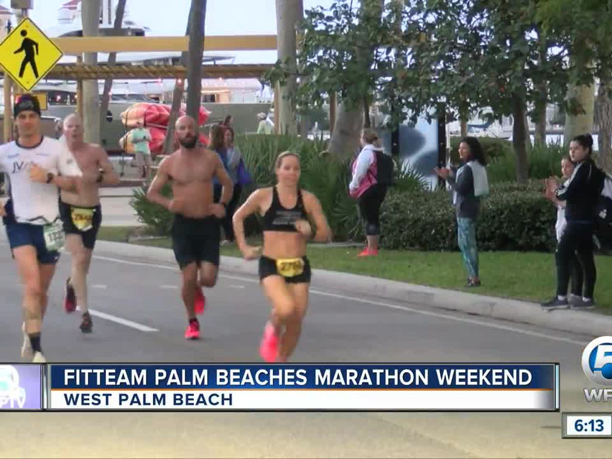 Fitteam Palm Beaches Marathon held in West Palm Beach