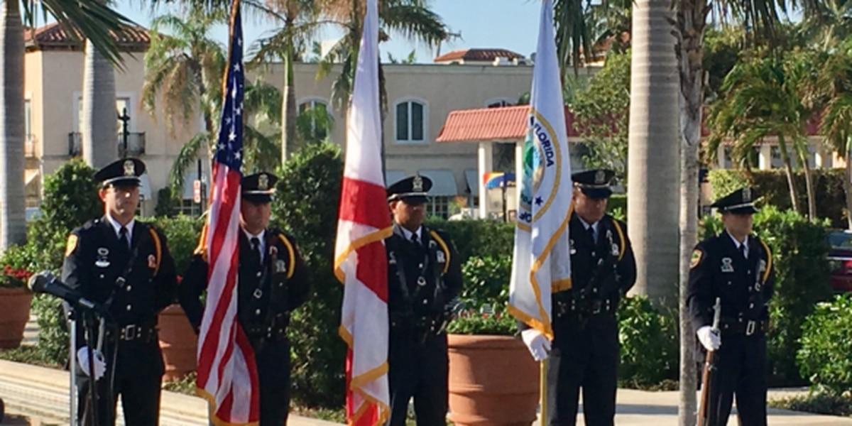 Palm Beach Honor Guard attending inauguration