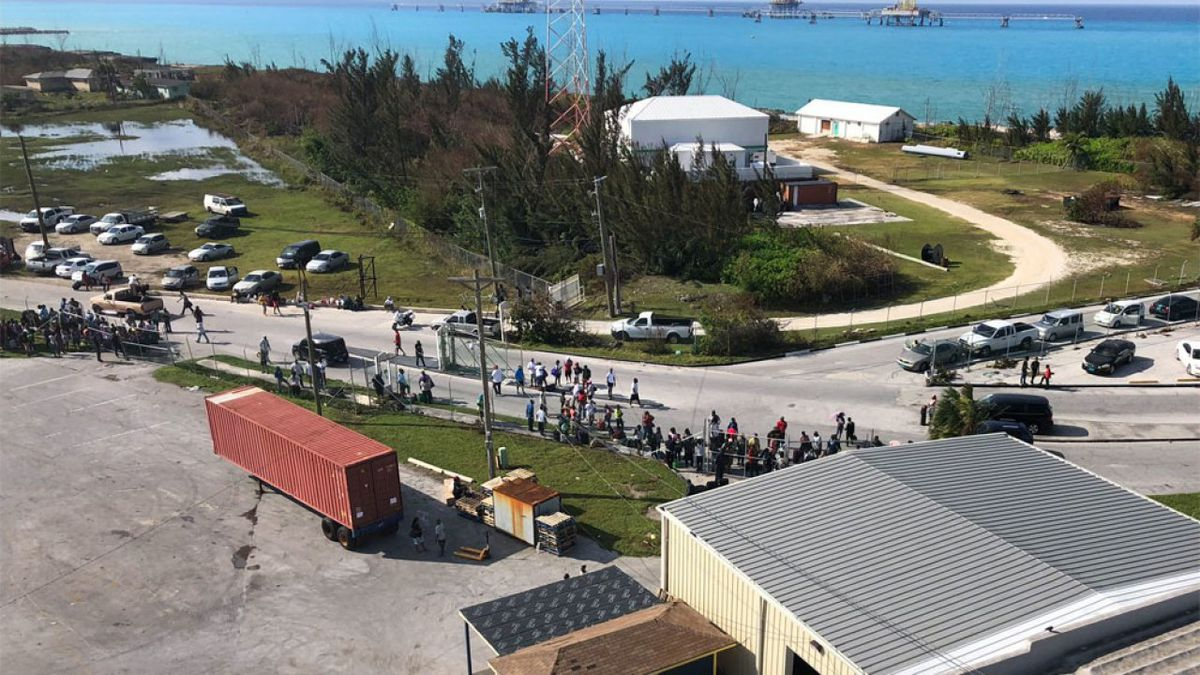 Grand Celebration cruise ship with supplies from Palm Beach County arrives in Bahamas