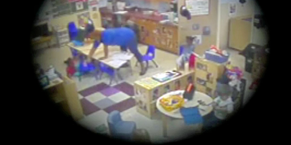 Video shows alleged child abuse at local daycare