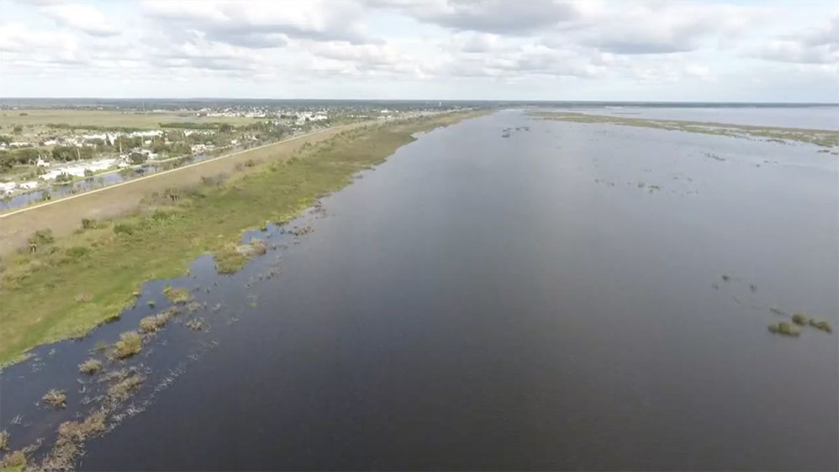 Dry conditions may be good and bad for Lake Okeechobee