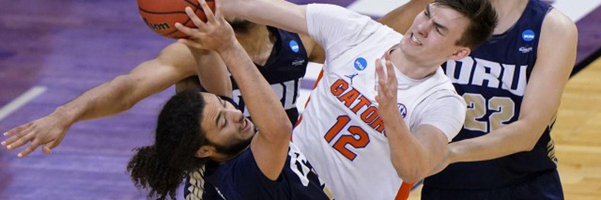 Oral Roberts stuns Florida in NCAA tournament