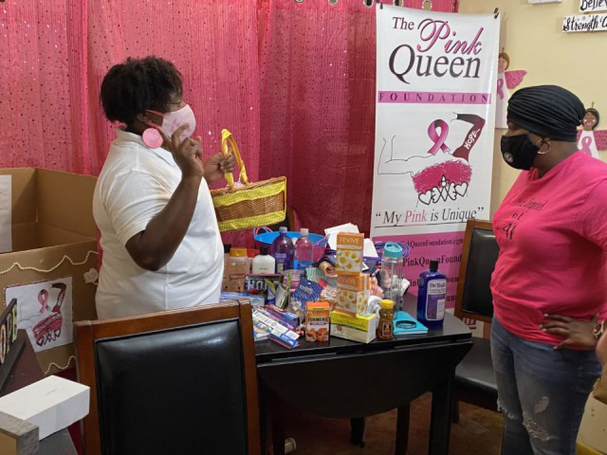 West Palm Beach 'Pink Queen' helping those battling cancer