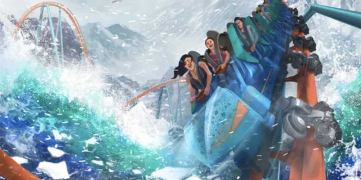 'Ice Breaker' roller coaster coming to SeaWorld Orlando in Spring 2020
