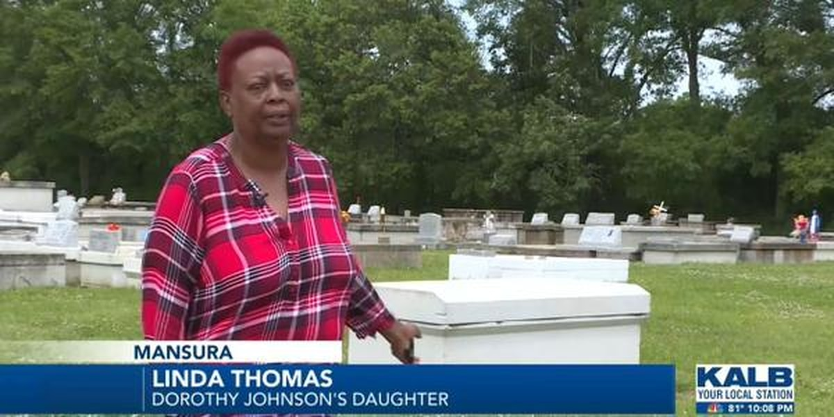 A family is waiting for their mother to be buried, 2 months after the funeral