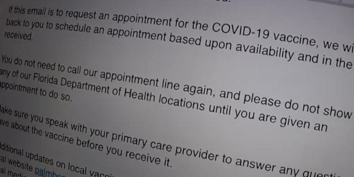 Seniors thought they were on COVID-19 vaccine waiting list, but aren't