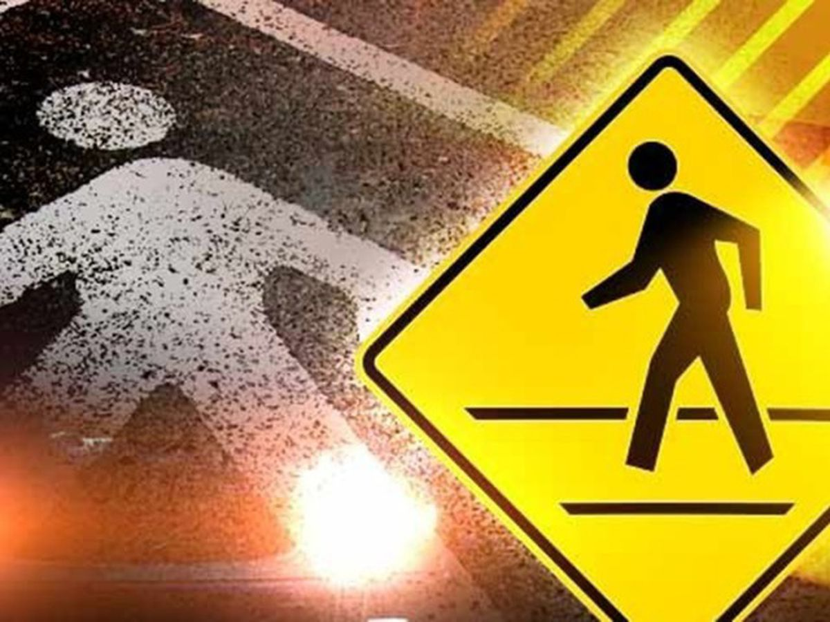 Pedestrian seriously injured after walking into path of truck on Saturday