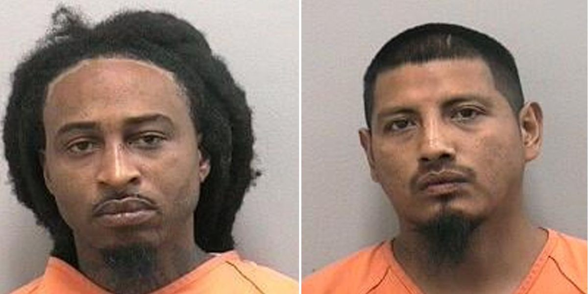 Two men arrested after 22-year-old woman shot during Indiantown street party