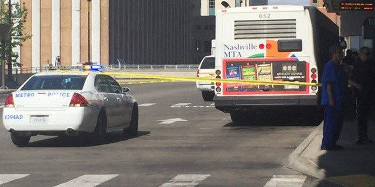 Shooting reported at Nashville bus station