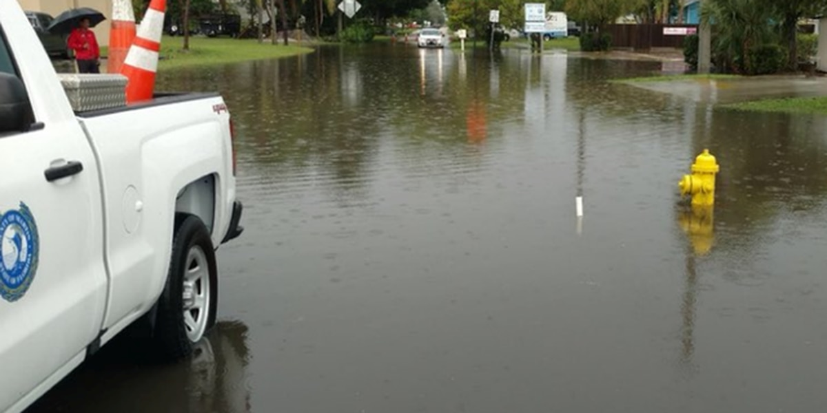Flooding closes Martin County intersection