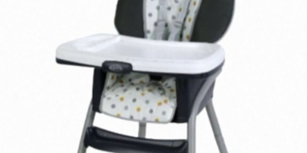 Graco recalling highchairs due to fall hazard