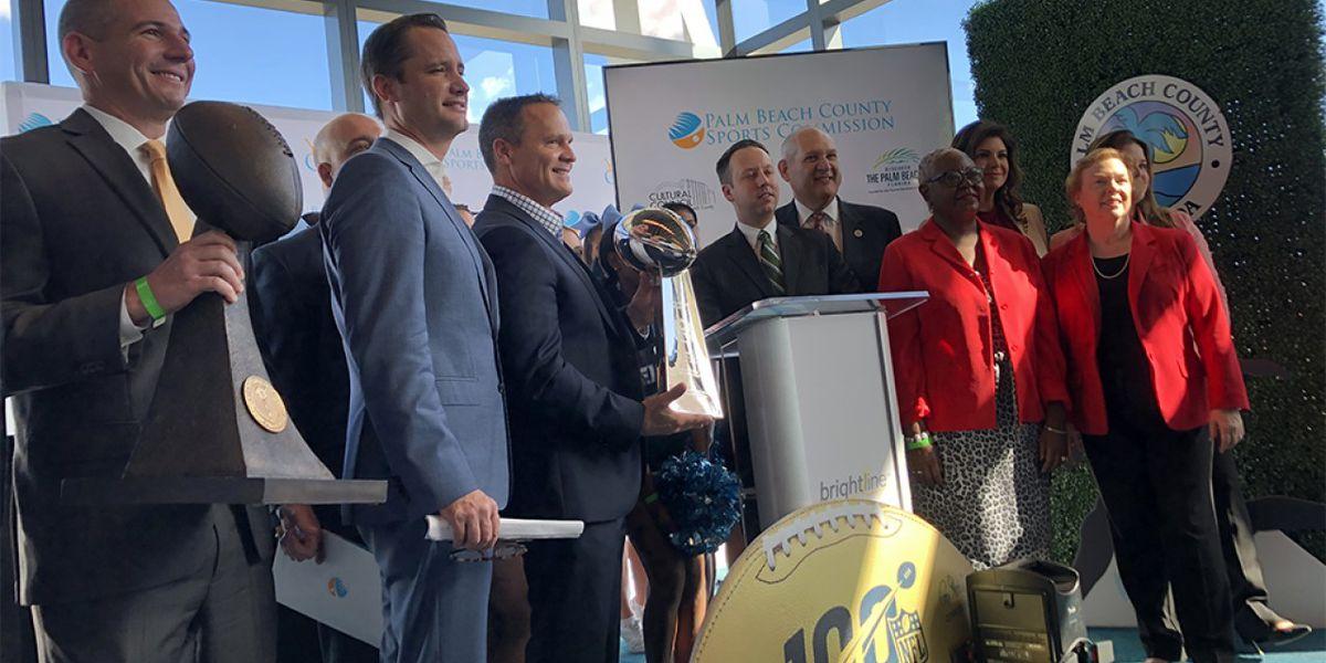 Palm Beach County Super Bowl LIV events