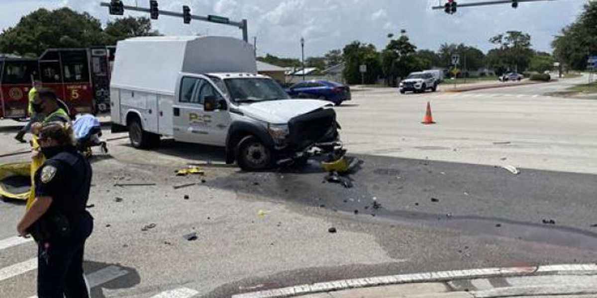 Roads reopen in Port St. Lucie following crash