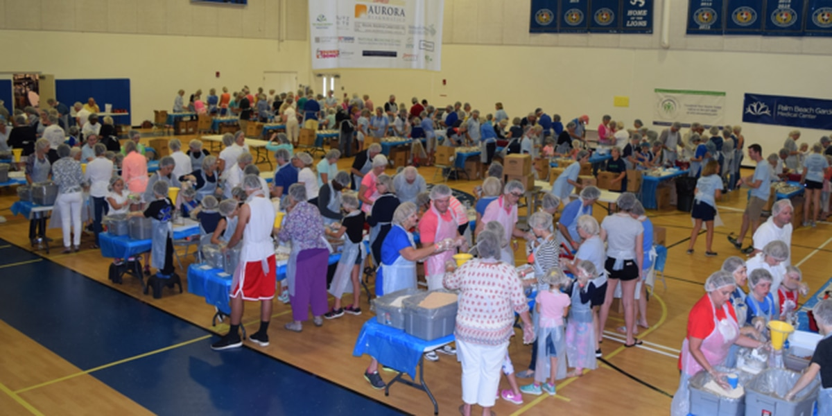 More help needed to help pack 125,000 meals