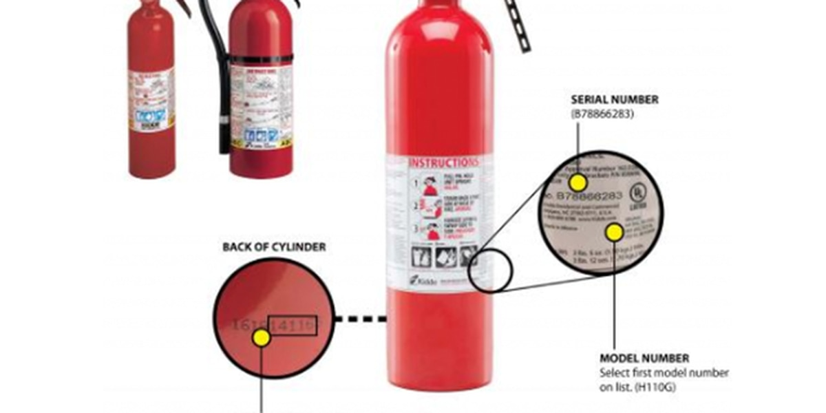 More than 40M fire extinguishers recalled