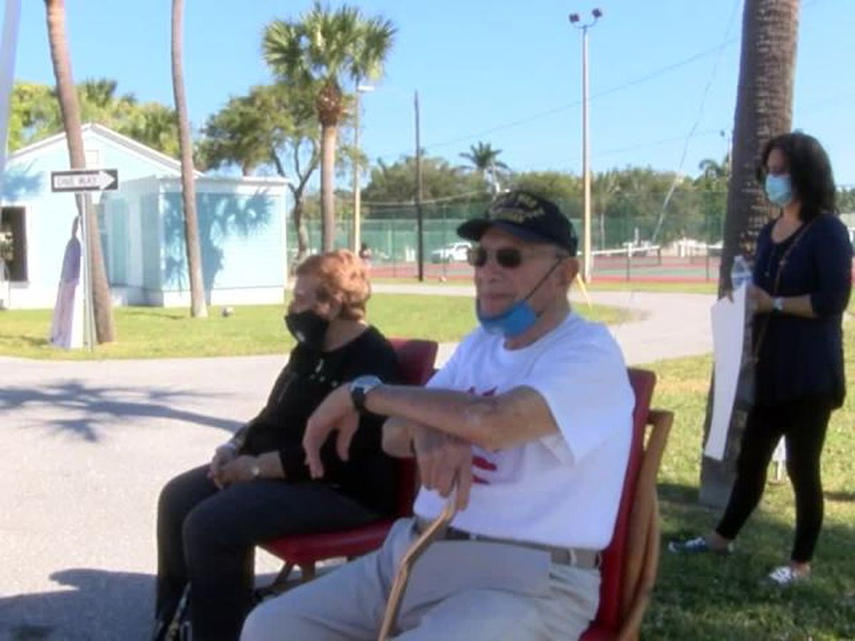 100th birthday celebration held for WWII veteran