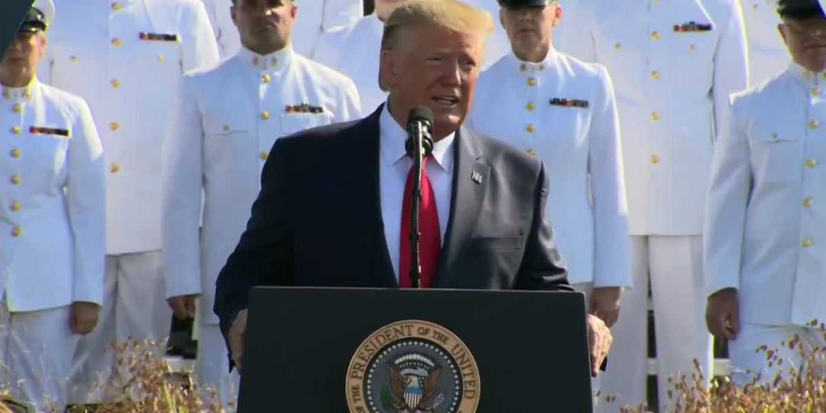 President Trump speaks on September 11 anniversary