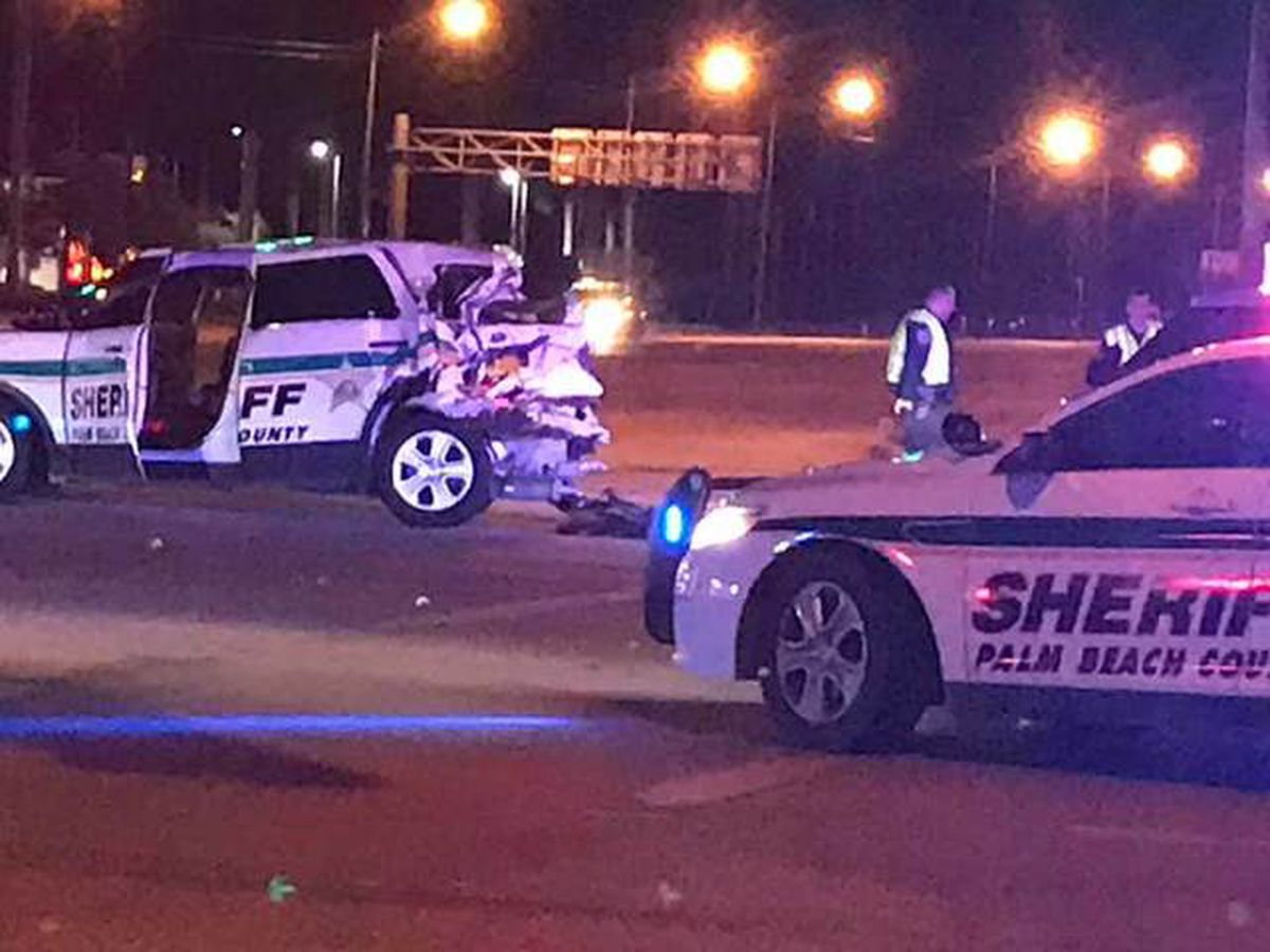 Suspected DUI driver injures PBSO deputy