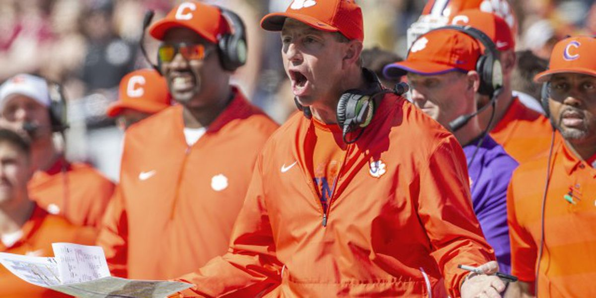 Clemson coach 'not going to worry about advice from Tallahassee'