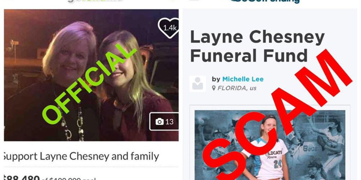 St. Lucie County Sheriff's Office warns about fake fundraising page in the name of Layne Chesney