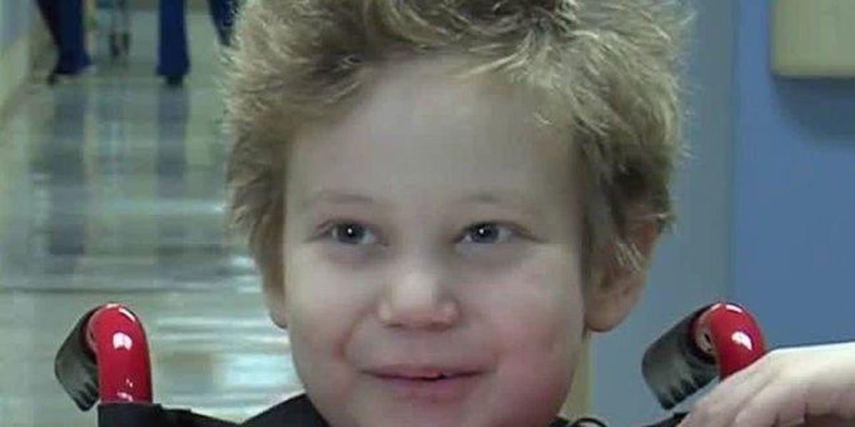 7-year-old Sebastian boy now cancer free