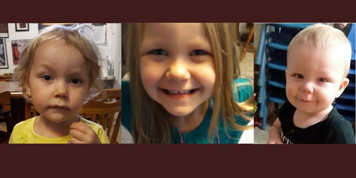 Amber Alert issued for 3 missing Montana children