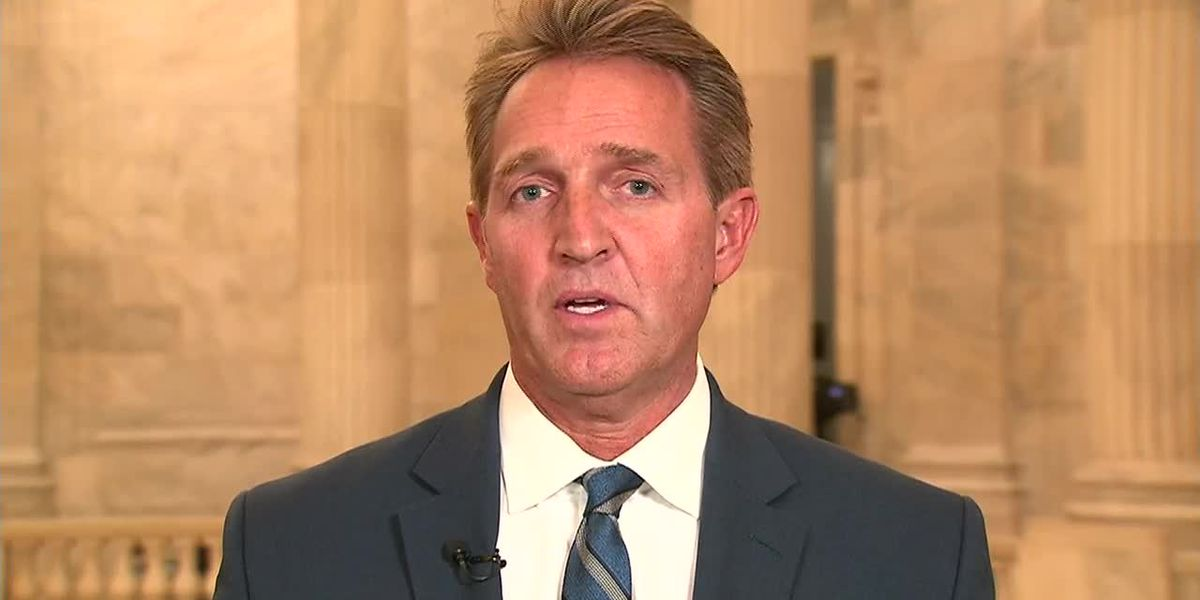 Flake agrees with Romney's assessment of Trump's character