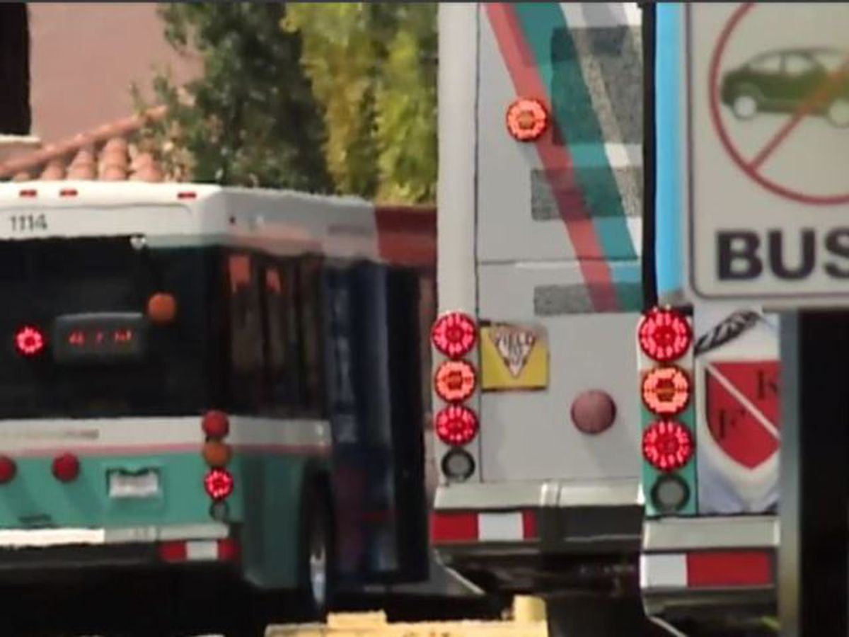 Palm Tran bus drivers want hazard pay due to coronavirus threat