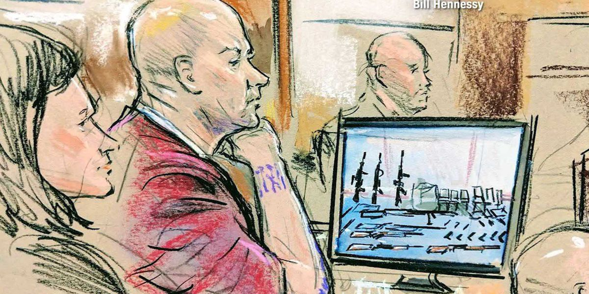 Coast Guard officer accused of making hit list pleads not guilty