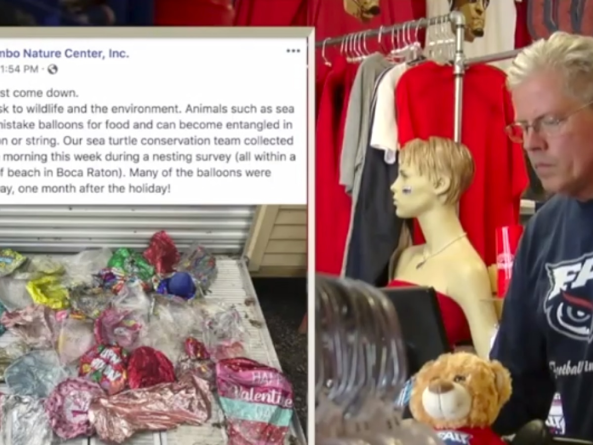 FAU-themed apparel store stops selling balloons to protect wildlife