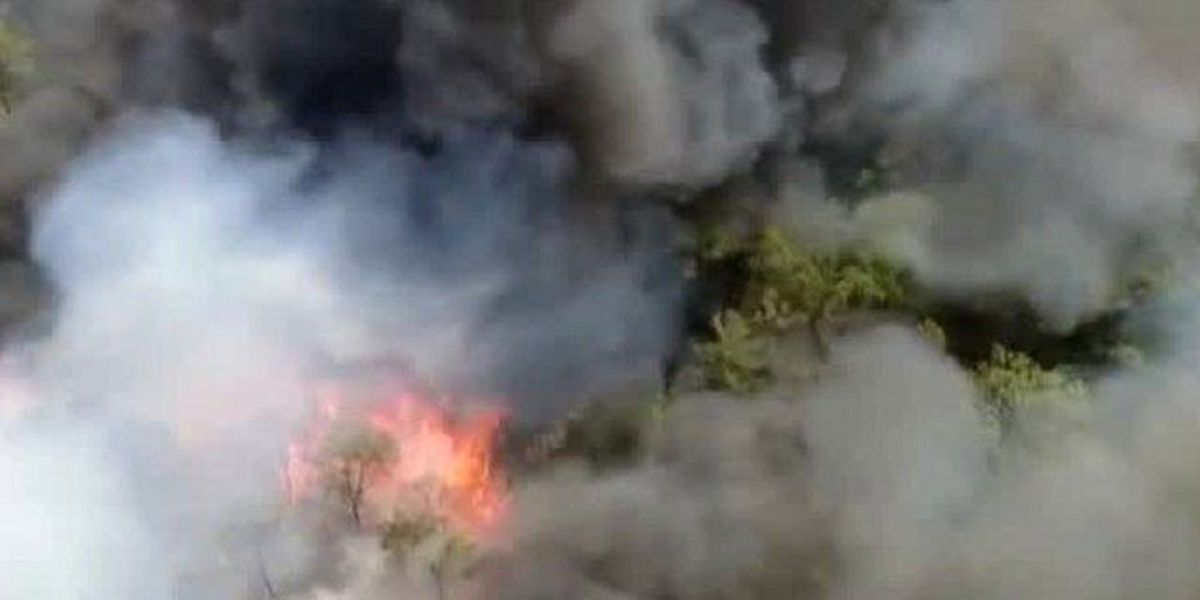 Windy conditions keep fire crews on alert