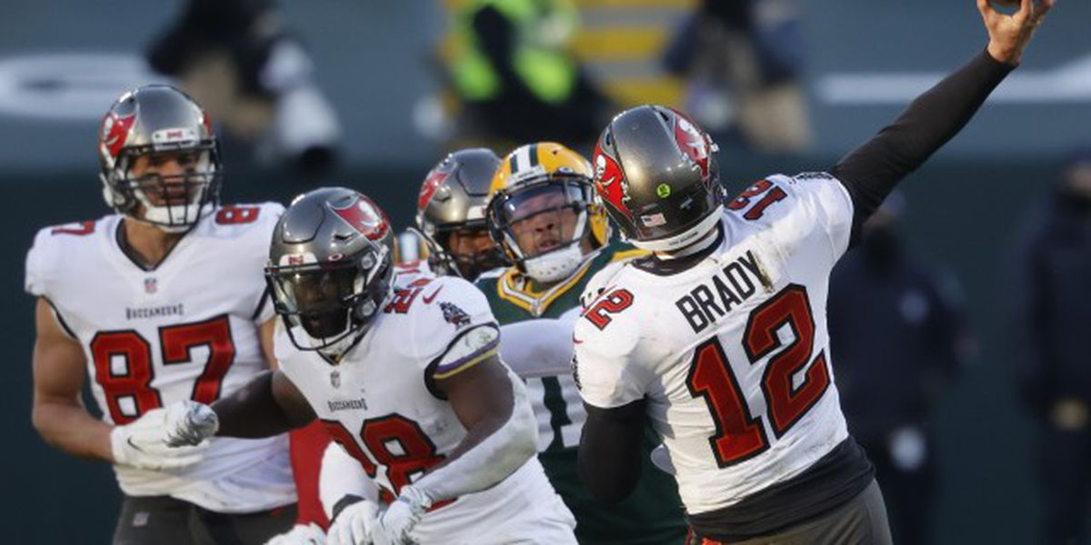 Buccaneers beat Packers, headed home for Super Bowl