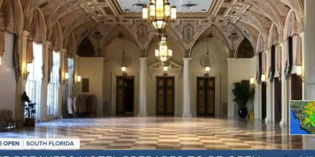 The Breakers resort on Palm Beach reopening Friday