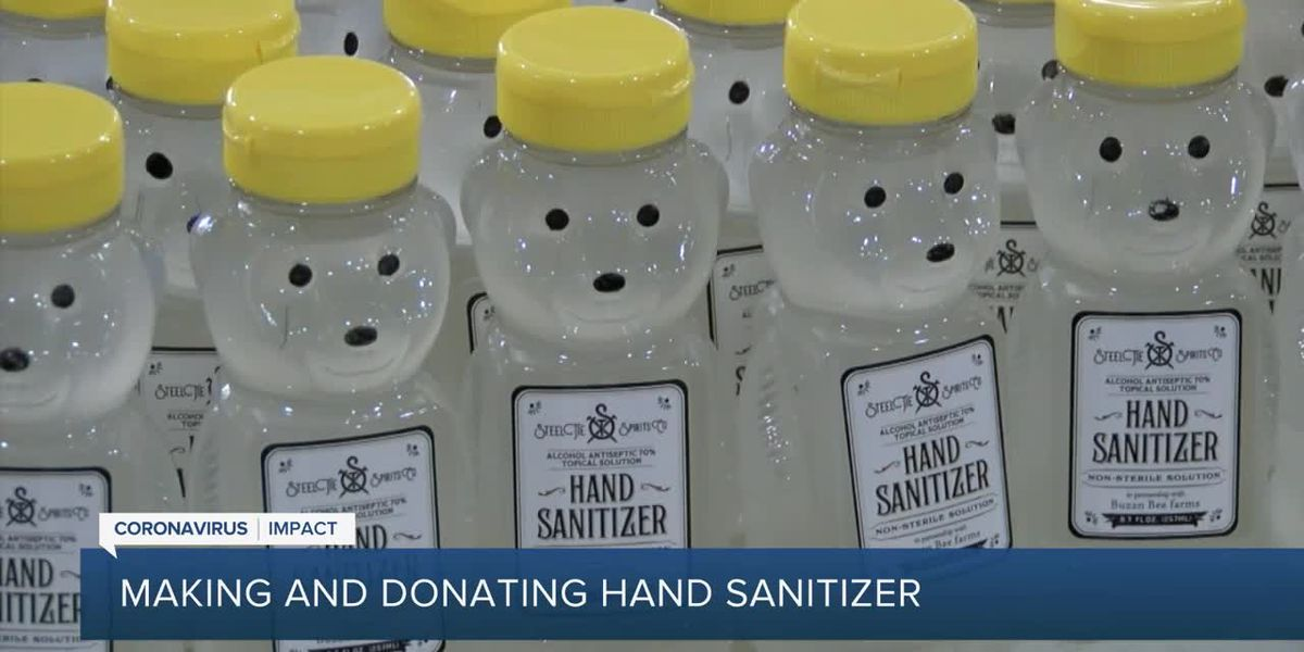 West Palm Beach distillery shifts to making hand sanitizer