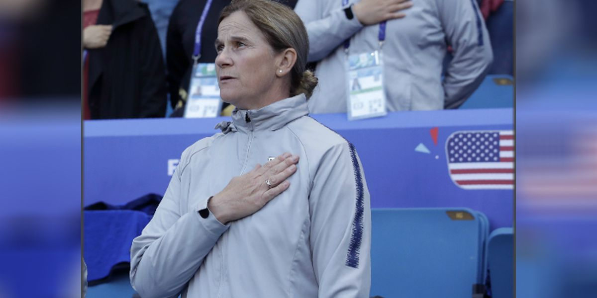 Jill Ellis stepping down as women's national team coach