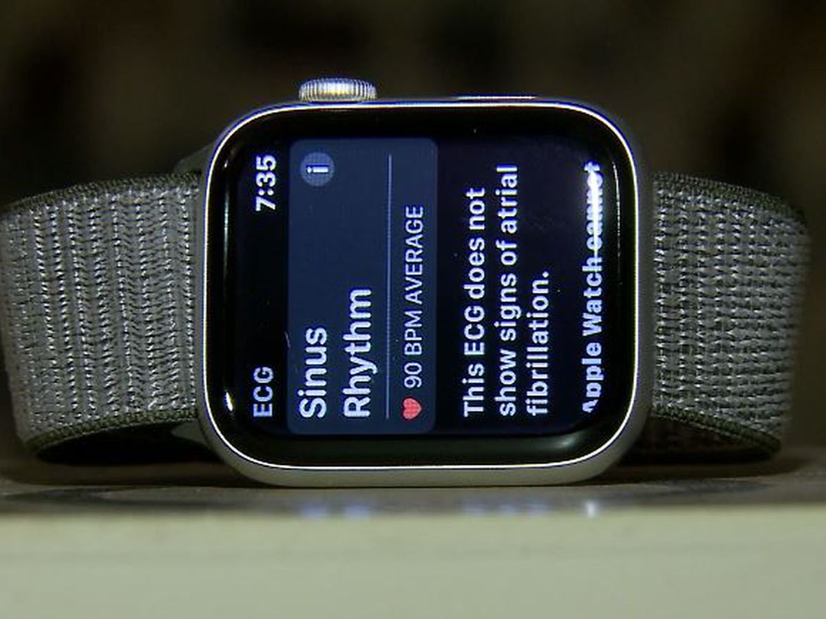 Couple grateful for Apple watch that alerted them to husband's irregular heartbeat