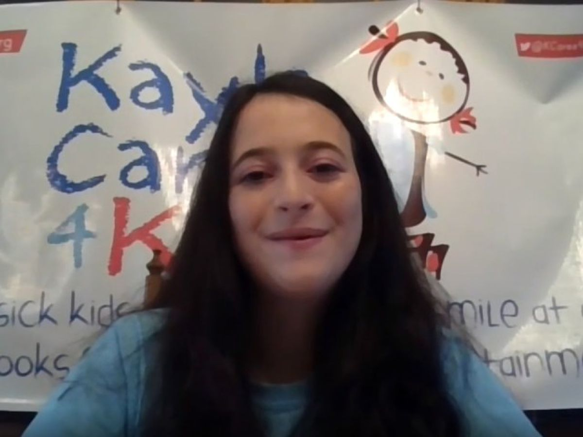 Palm Beach County teen with chronic illness helps other sick children