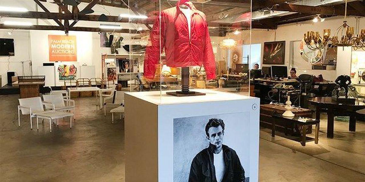 Bids for Dean's 'Rebel' jacket fall short