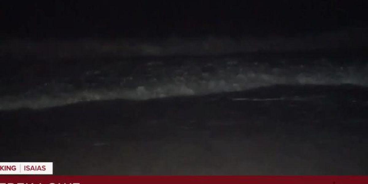 Waves increase in Vero as Isaias approaches Florida coast